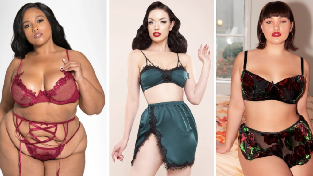 These 2020 holiday-themed lingerie sets are so festive.