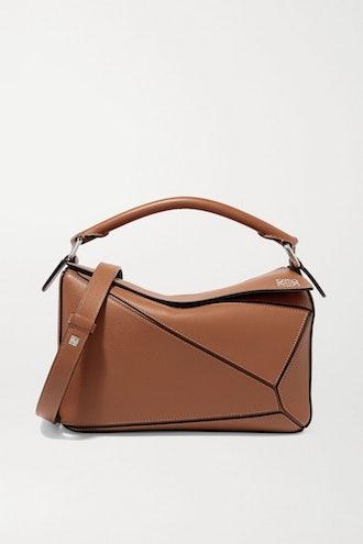 Tan Puzzle Bag