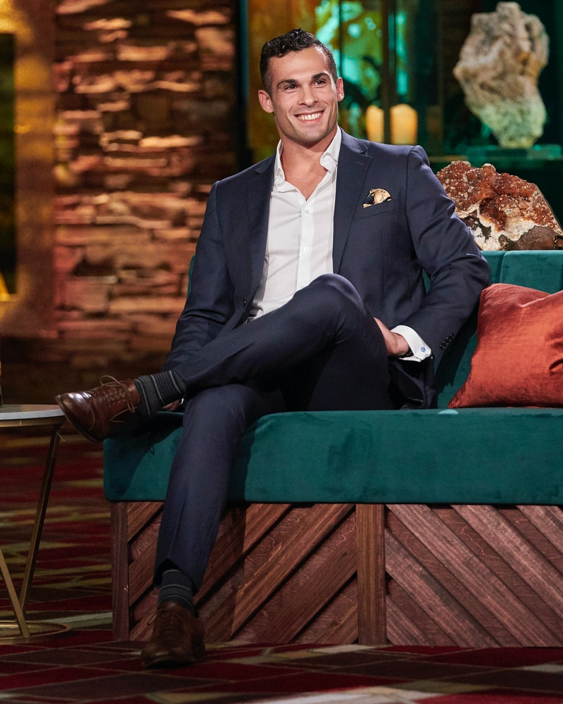 Josef Aborady in 'The Bachelorette: Men Tell All' via ABC's press site