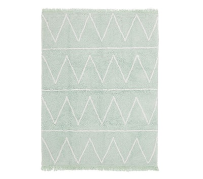 """Lorena Canals Hippy Washable Rug - Mint 4' x 5' 3"""""""