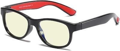 Duco Kids Sports Style Blue Light Blocking Glasses