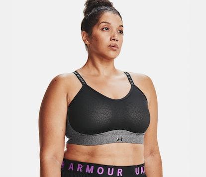 Under Armour Women's UA Infinity Low Heather Sports Bra
