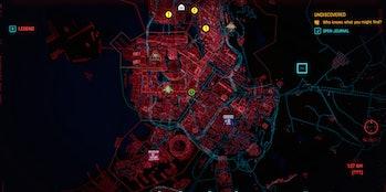 Skippy the talking gun Location Cyberpunk 2077