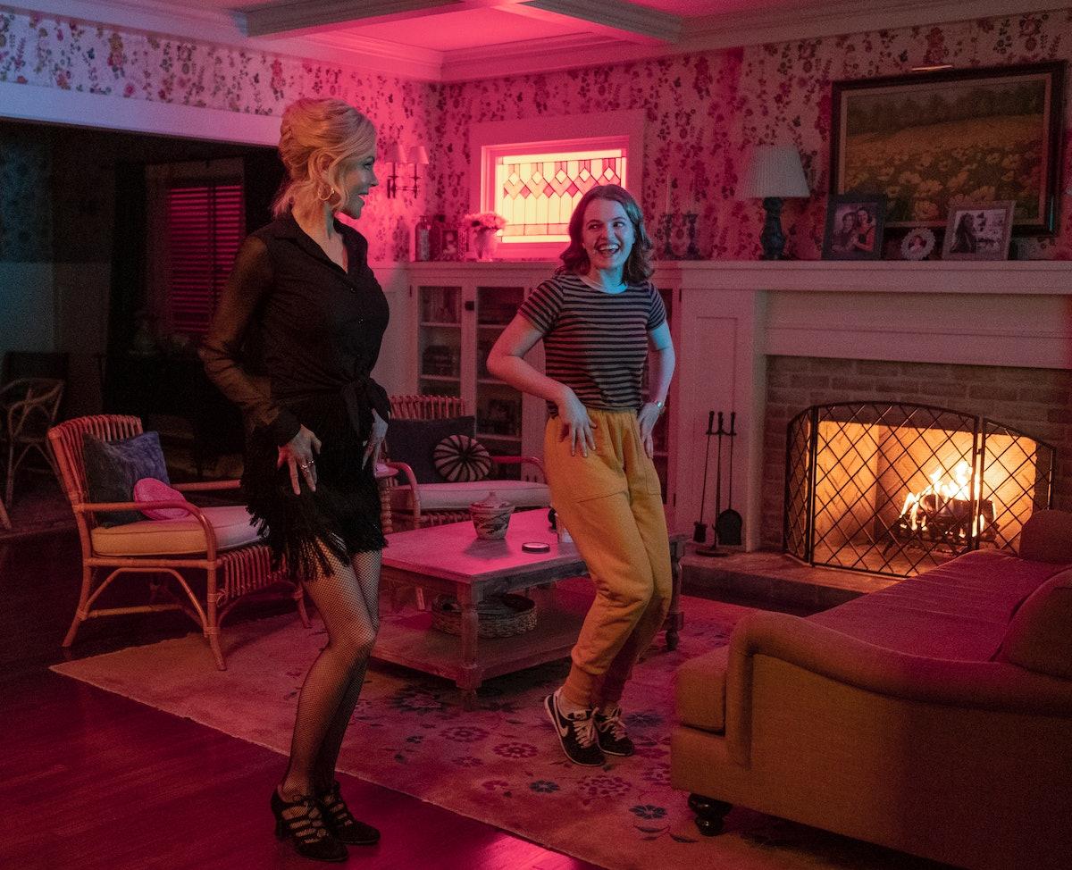 Jo Ellen Pellman and Nicole Kidman in 'The Prom'