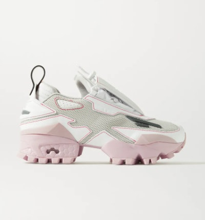 Pyer Moss + Reebok Trail Fury mesh and faux leather sneakers