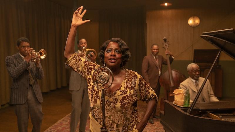 Viola Davis in 'Ma Rainey's Black Bottom,' via the Netflix press site.