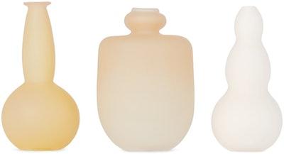 Beige Small Vase Set
