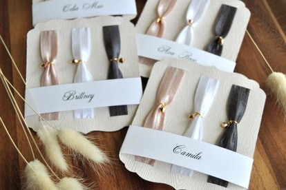 Elastic Hair Ties with Swarovski Crystals. Personalized Gifts For Her Under 20