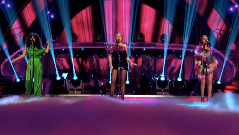 Little Mix performed on 'Strictly Come Dancing' results night, but Jesy Nelson was missing.