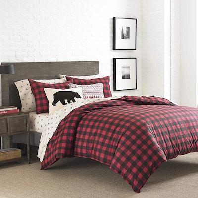 Eddie Bauer Home Cotton Plaid Comforter Set