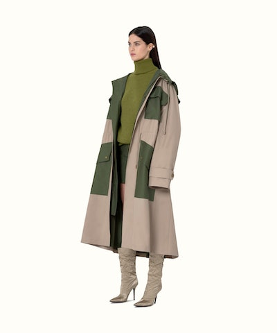 Trench-Inspired Parka
