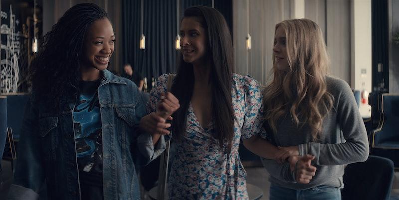 'Tiny Pretty Things' cast members Kylie Jefferson as Neveah, Daniela Norman as June, and Casimere Jollette as Bette via Netflix Press Site