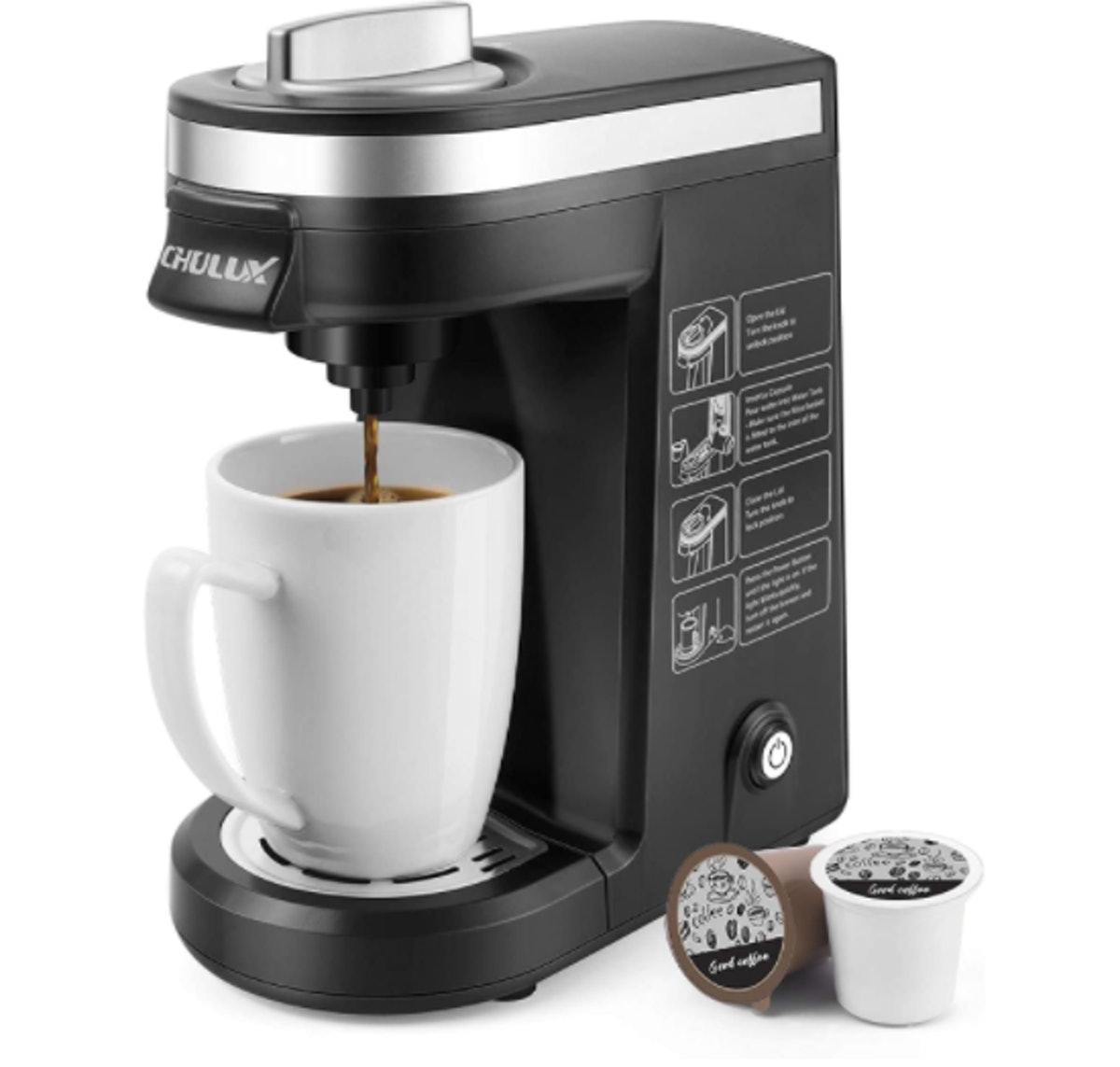 CHULUX Single-Serve Coffee Brewer
