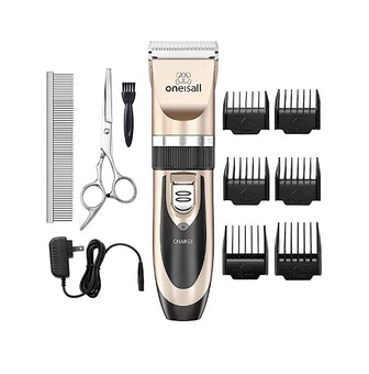oneisall Rechargeable Dog Clippers (10 Pieces)