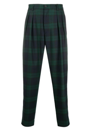 Tommy Hilfiger Check Straight-Leg Trousers