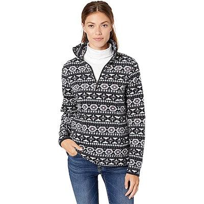Amazon Essentials Quarter-Zip Polar Fleece Pullover