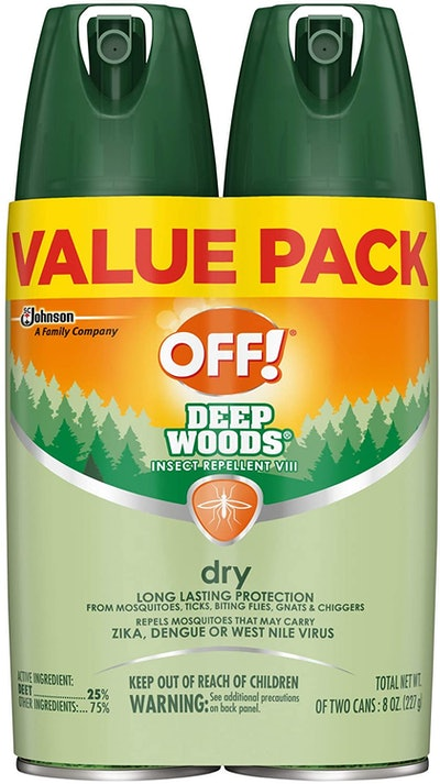 OFF! Deep Woods Insect & Mosquito Repellent, 8 Oz. (2-Pack)