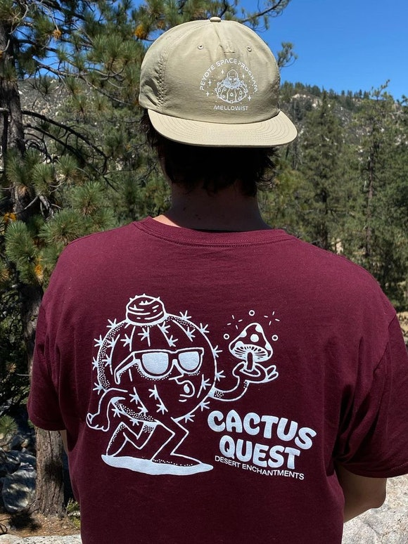 "Cactus Quest ""Meloman"" T-Shirt."