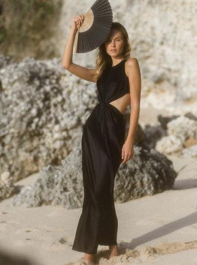 GRACE Silk Maxi Dress