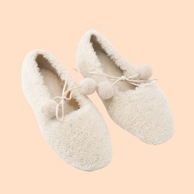 Lulu Shearling Slippers