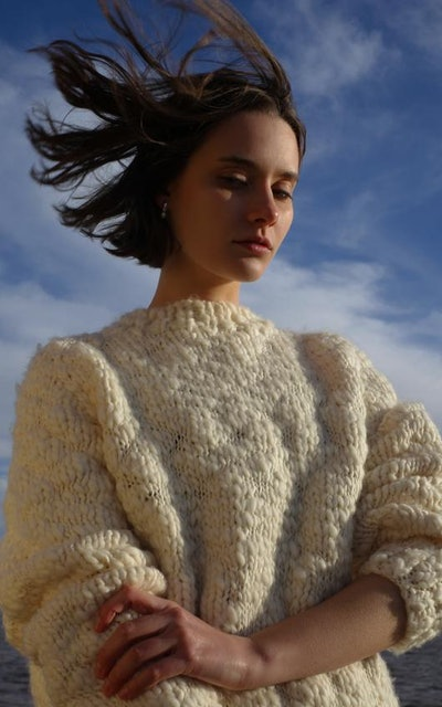 Hand Knitted Caven Wool Jumper