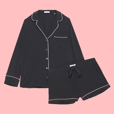 Equipment Lilian Washed-Silk Pajama Set