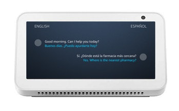 Live Translation for Alexa can translate between dialects in real time.