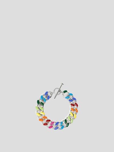Unicorn Rainbow Chunky Chain Link Bracelet