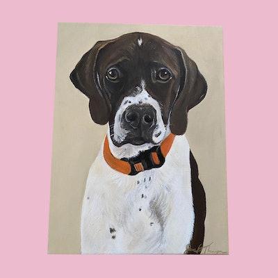 Custom Pet Portraits (Price Upon Request)