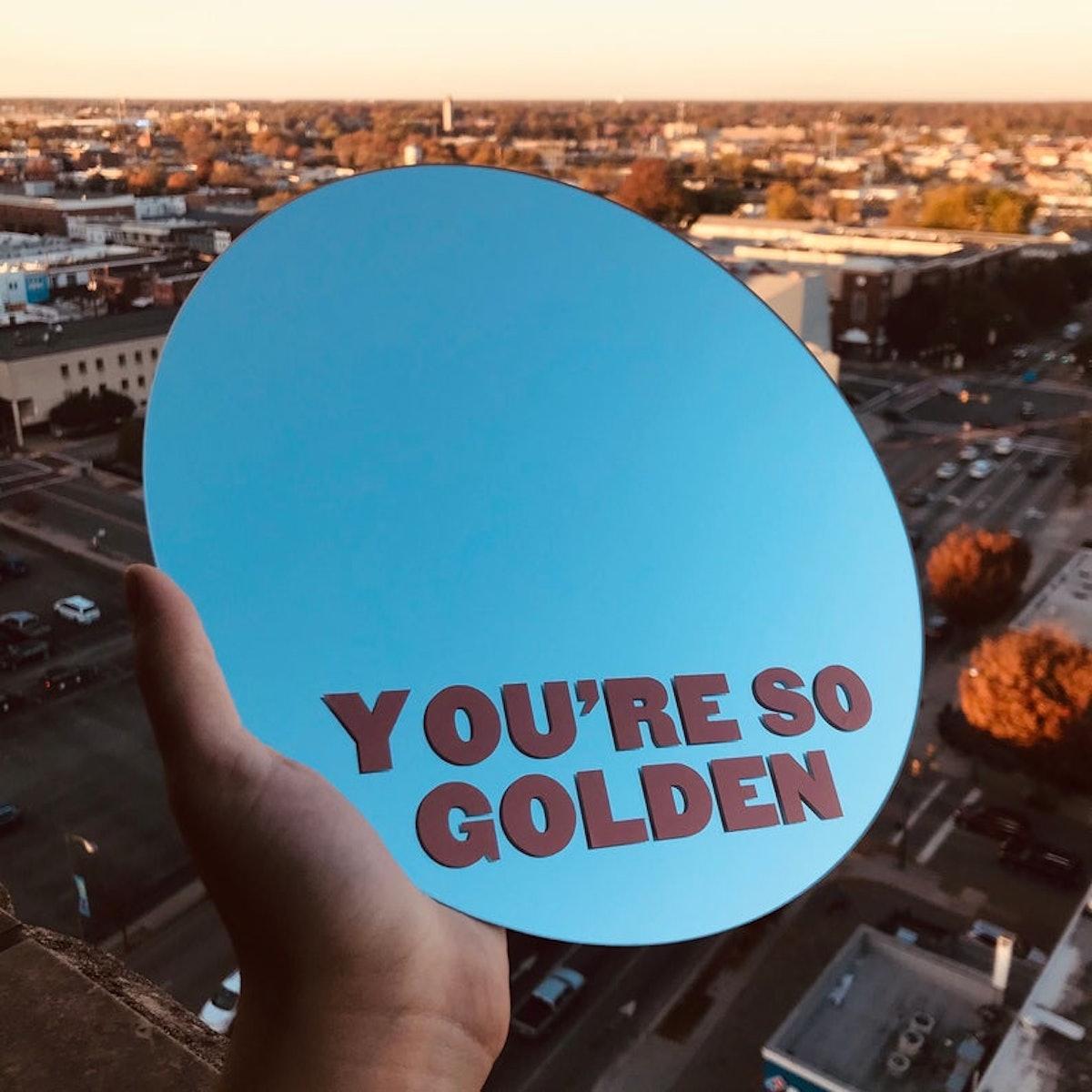Harry Styles Golden Inspired Mirror