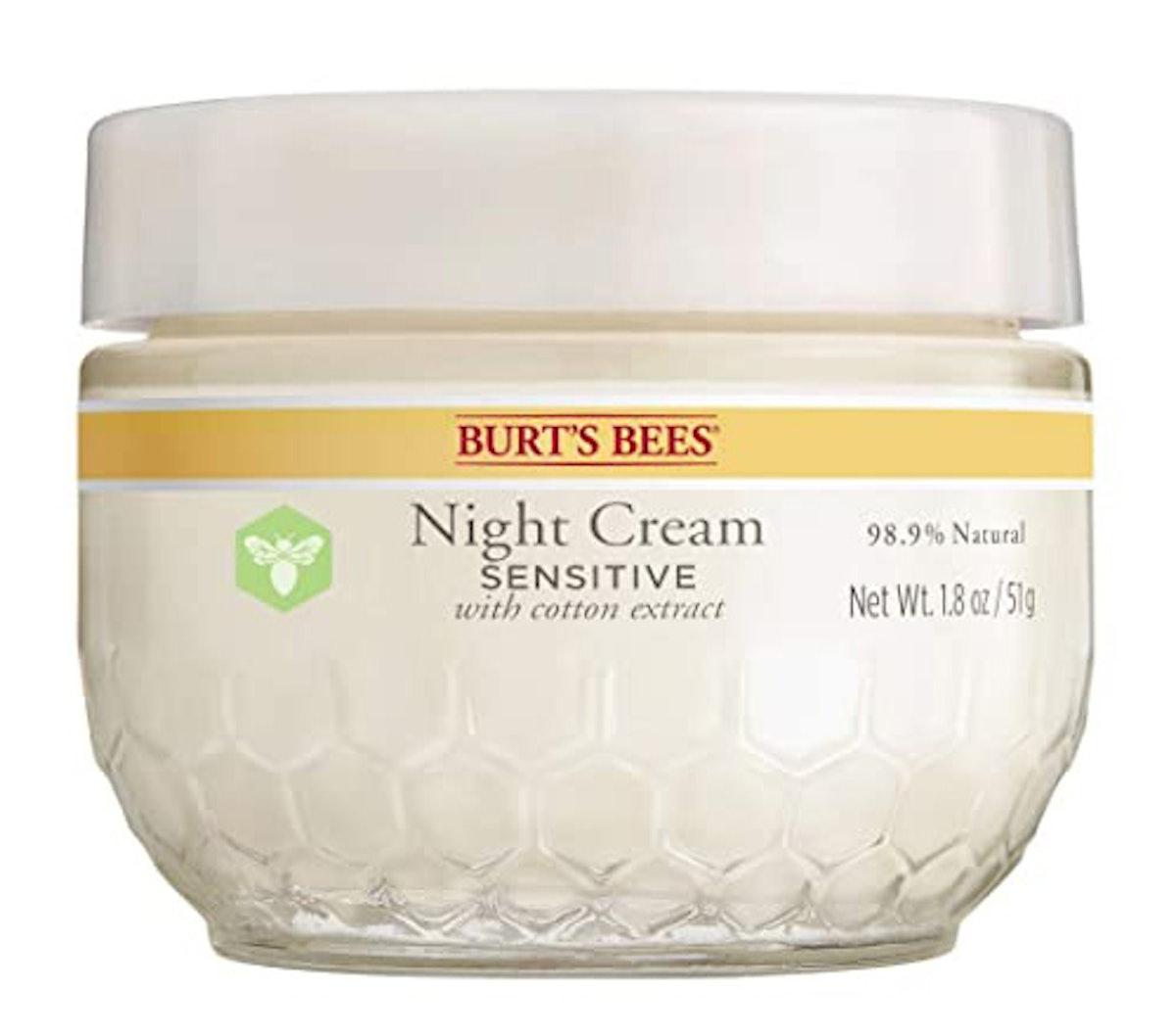 Burt's Bees Night Cream Sensitive