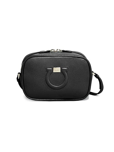Gancini City Leather Camera Bag