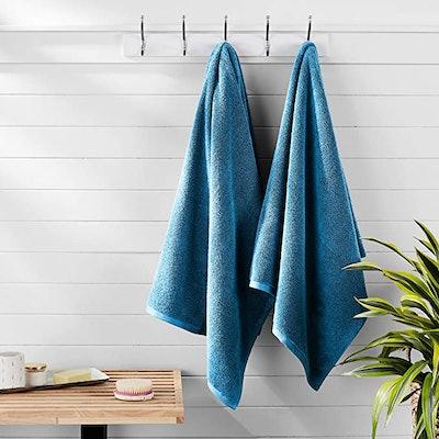 AmazonBasics Quick-Dry, Luxurious, Soft, 100% Cotton Towels
