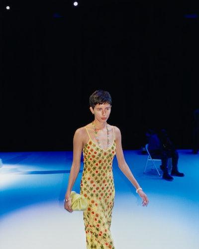 Pixie cut inspiration at Bottega Veneta