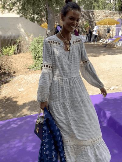 Wibi Peasant Dress