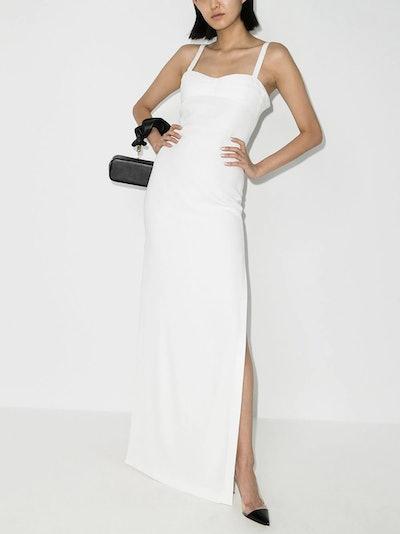 Crêpe Slip Dress