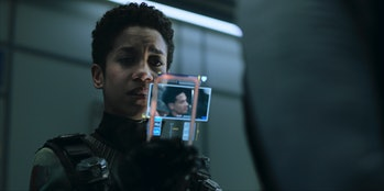 Dominique Tipper as Naomi Nagata in 'The Expanse' Season 5.