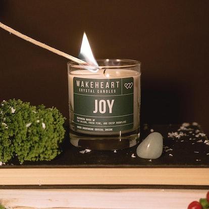 Joy Crystal Candle