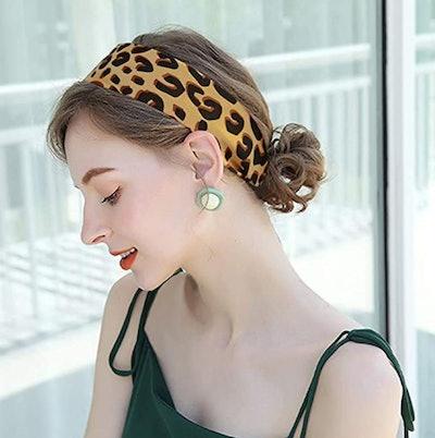 FYLuoke Satin Ribbon Scarf Headband (3-Pack)