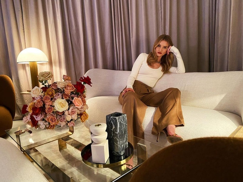 Rosie Huntington-Whiteley's favorite candle brands are all minimalist-chic
