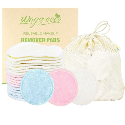 wegreeco Reusable Cotton Rounds (16-Pack)