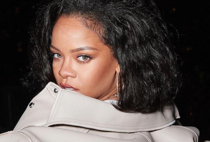 Fenty Beauty's Pro Filt'r Soft Matte Powder Foundation on Rihanna.