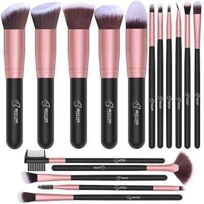 BESTOPE Premium Makeup Brushes (Set of 16)