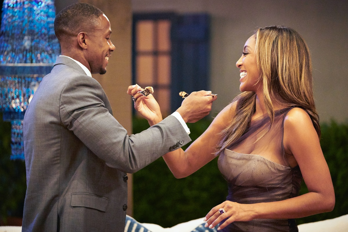 Riley and Tayshia on Season 16 of The Bachelorette.