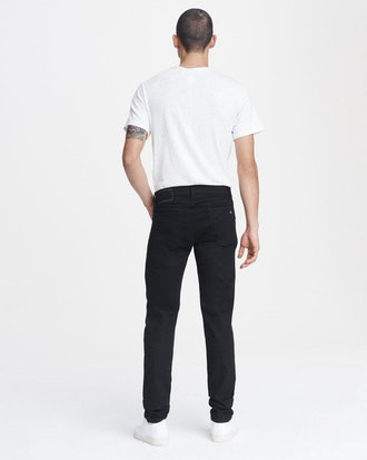 Rag & Bone Skinny Fit Black Authentic Stretch Jean