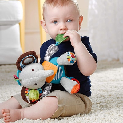 Skip Hop Bandana Buddies Baby Activity and Teething Toy