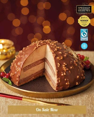 Belgian Chocolate and Praline Bombe