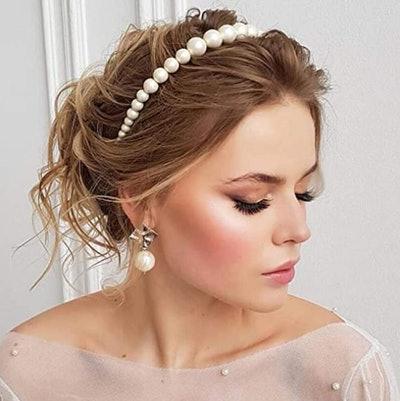 LYDZTION Pearl Headband