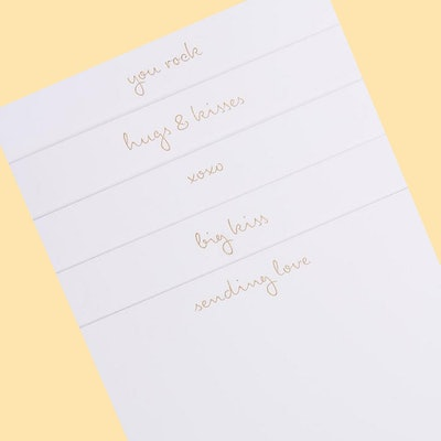 Je T'Aime Notecards