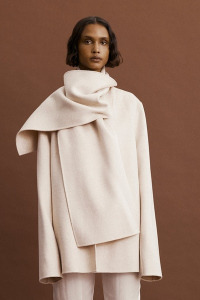 Roma Scarf Coat
